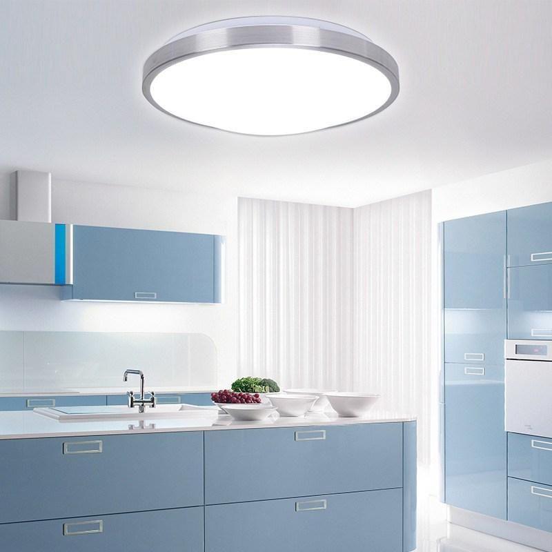 2019 Modern Minimalist Circular LED Ceiling Light Aluminum