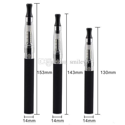 Meilleure vente EGO CE4 Blister Pack Kit 1.6 ml CE4 Atomiseur Cigarette électronique 650mah 900mah 1100mah Capacité réelle