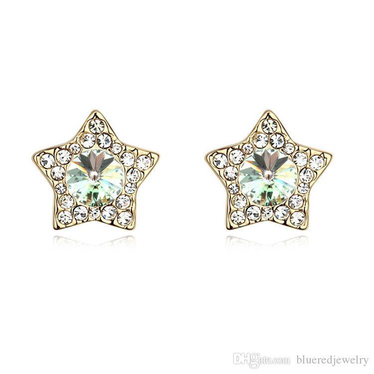 9a6671ae0039 Compre Pendientes De Cristal Austriacos  Vienes De Las Estrellas A  12.62  Del Blueredjewelry