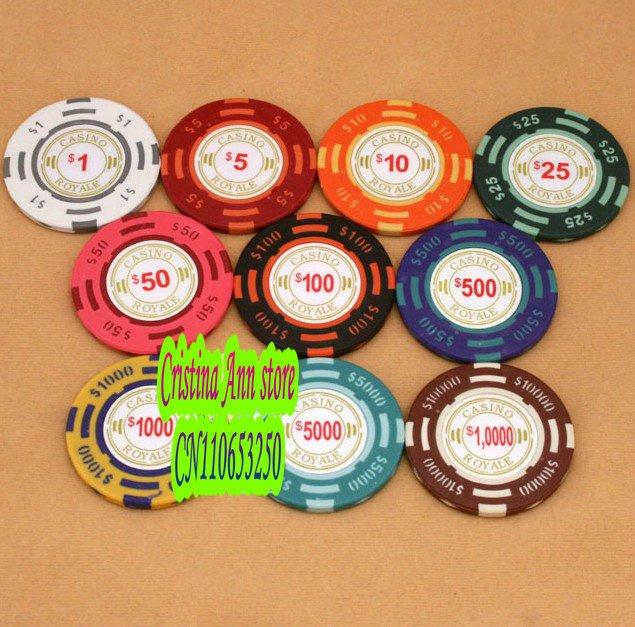 shop nose clip online 14g clay poker chips casino chips baccarat chips 10 kinds of face with as cheap as piece dhgatecom - Clay Poker Chips