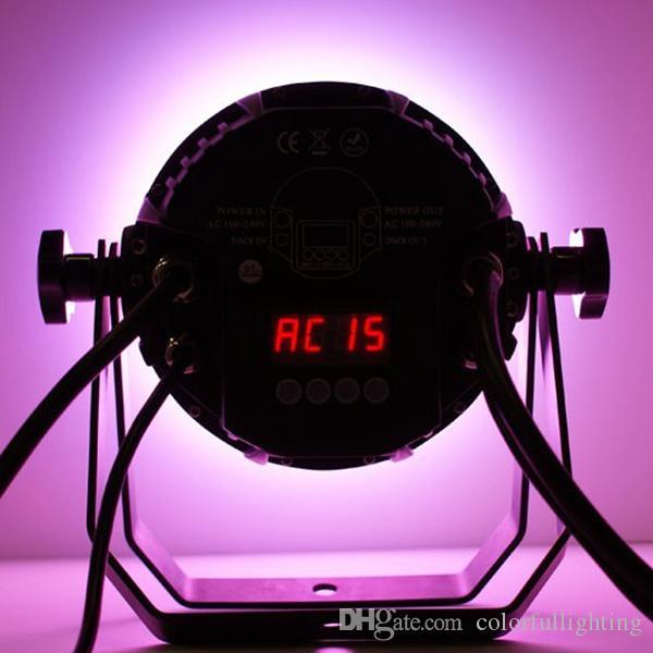Ücretsiz kargo İki yıl garanti 18X15 W Sessiz IP65 Su Geçirmez RGBAW 5in1 LED Par Işık Açık LED Par Lambası