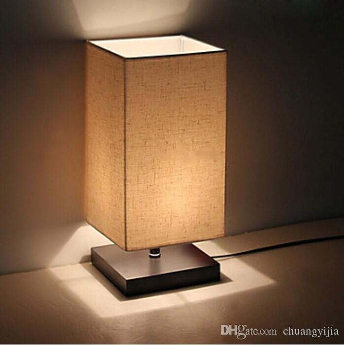 Großhandel Moderne Minimalist Skandinavischen Holzbodenlampen Für  Schlafzimmer, Den Und Hotelzimmer Massivholz Tischlampe Nachttischlampe  Schreibtischlampe ...