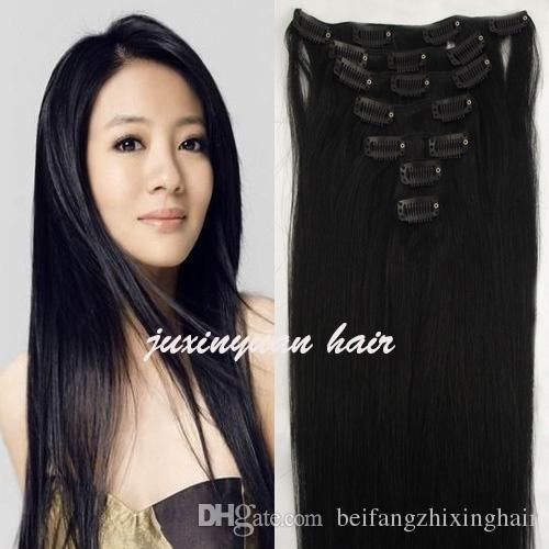 Real human hair sew in extensions images hair extension hair 5a 140gpc 100 real human hairlbrazilian hair clips in 5a 140gpc 100 real human hairlbrazilian hair pmusecretfo Gallery