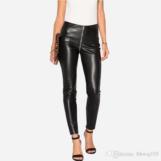 6627a1857f59ac 2019 Ladies Skinny Black Jeans Sexy High Waist Zipper Denim Jeans Leggings  Slim Fit Pencil Pants New Streetwear Clubwear BSF0317 From Hhwq105, ...