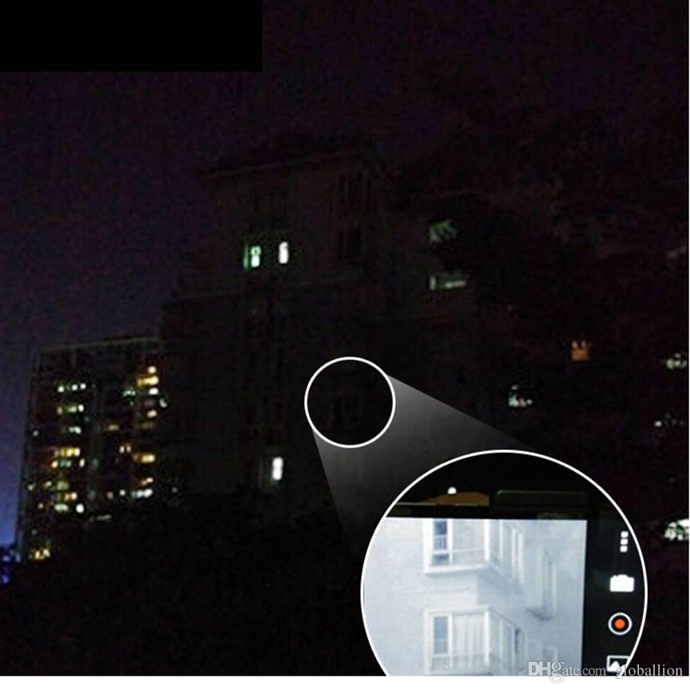 AloneFire 850nm Zoom Radiação Infravermelha IR LED Night Vision Lanterna Camping Luz Caça Lâmpada Lanterna IR01