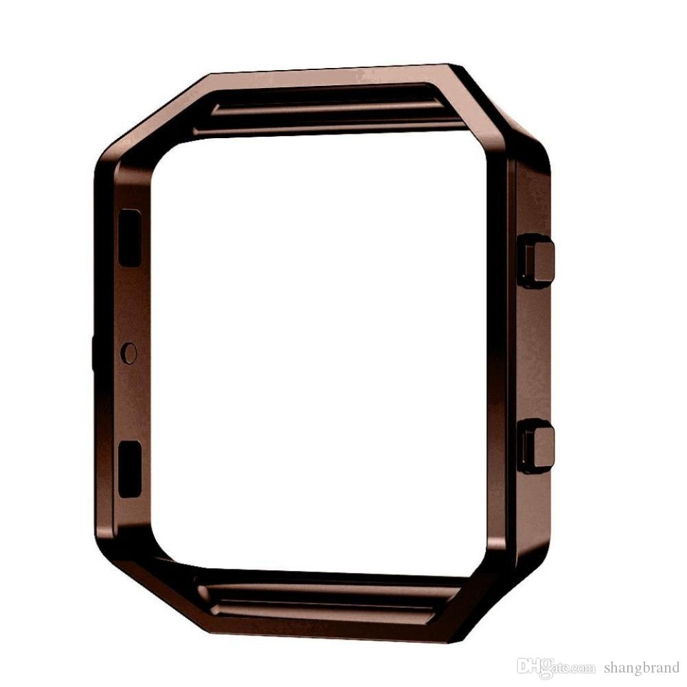 Replacement Stainless Steel Frame Holder Case Cover Shell Metal Frame Bezel For Fitbit Blaze Activity Tracker Smart Watch Band