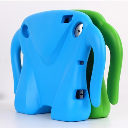 timeless design bf375 32182 EVA Elephant Shape Foam Cover Case for iPad 2 3  4 Shockproof  Safe Soft  9.7 inch cases for kids