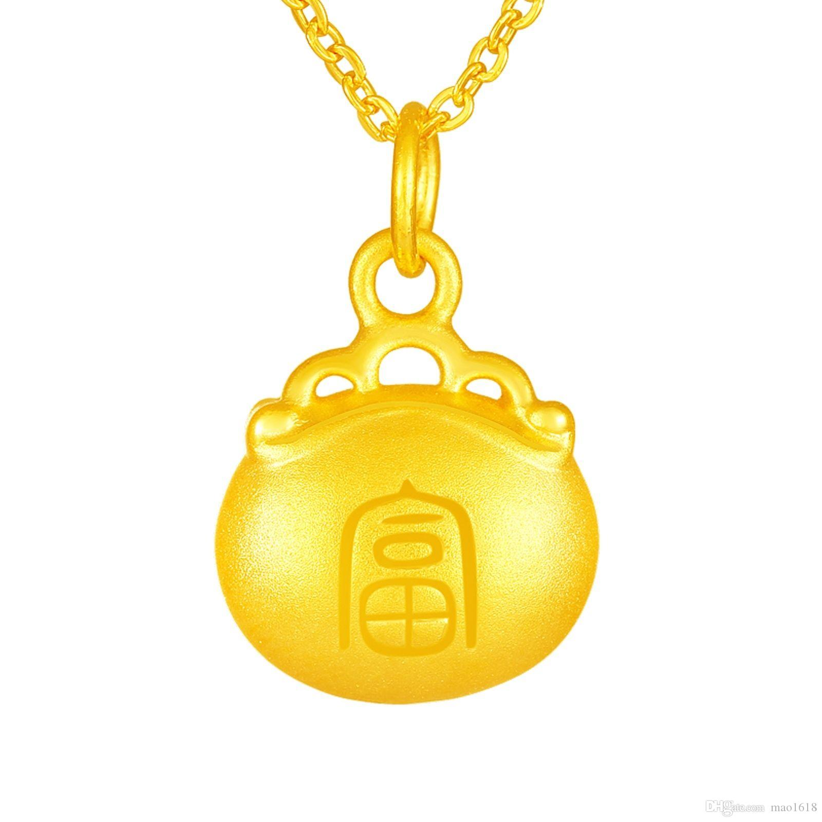 Compre pure 999 24k gold gold pendant 3d nuevo diseo rich and compre pure 999 24k gold gold pendant 3d nuevo diseo rich and expensive lock bag pendant 112g a 8443 del mao1618 dhgate aloadofball Images
