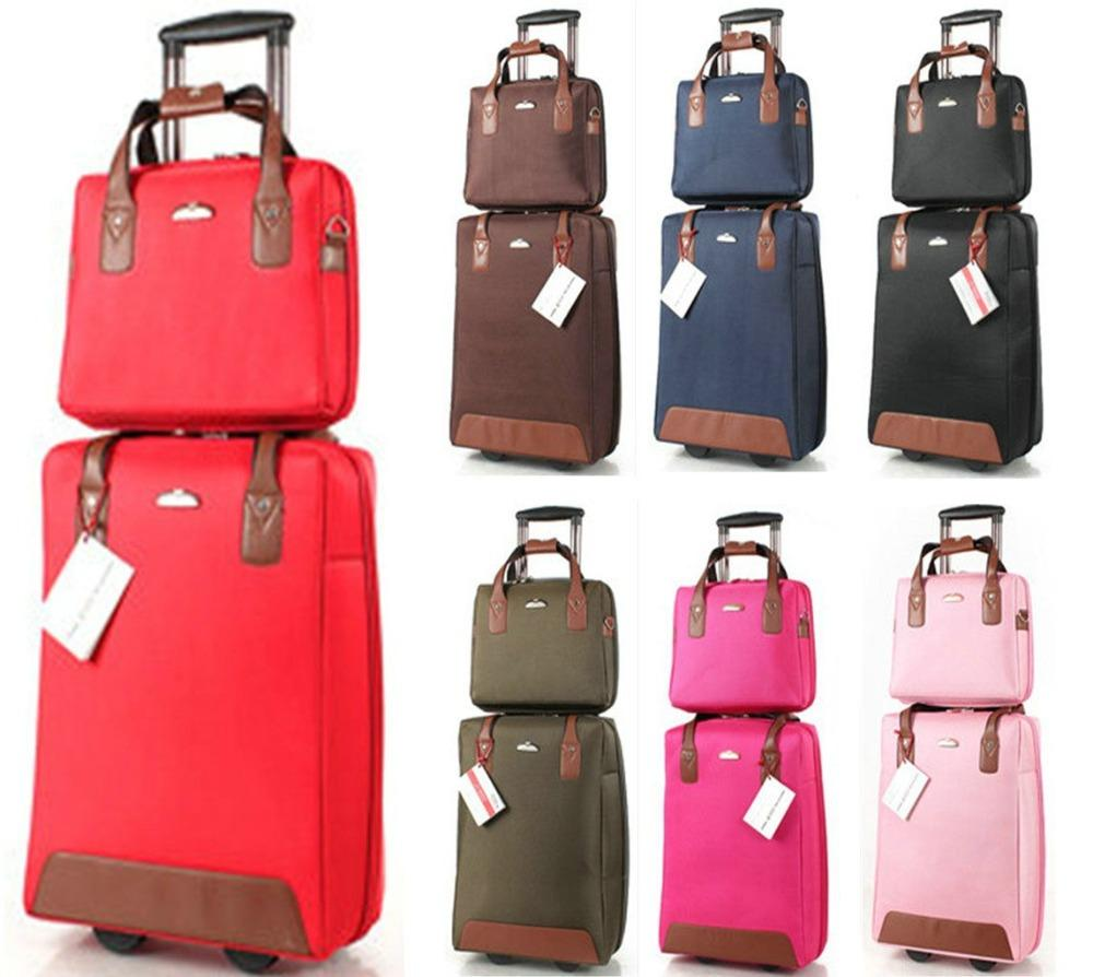 New Suitcase Fashion Girls Trolley Luggage Sets, One Way Round ...