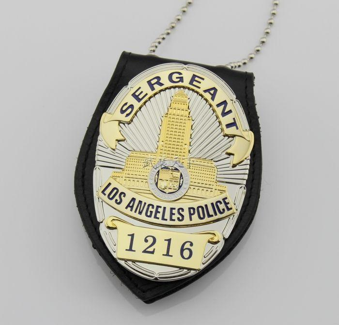 The United States Of Losangeles Lapd Sergeant Badge