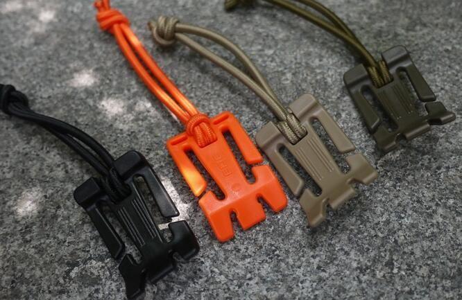 EDC передач веб-Доминатор Molle рюкзак карабин, EDC инструмент, эластичный веревки лямки пряжки моталки