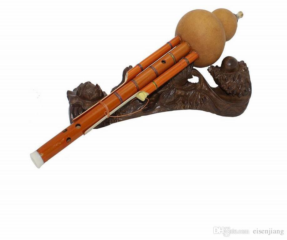 6 hulusi la bouteille de désassemblabilité Gourd Silk C B Zizhu Hulusi