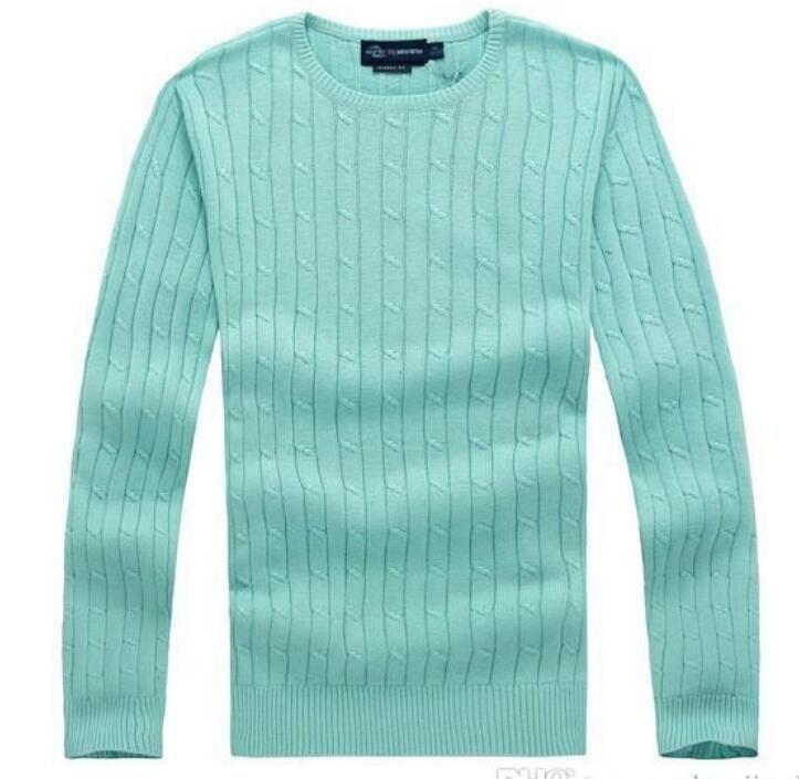 Trasporto libero 2018 nuovo miglio di alta qualità wile polo uomini di marca maglione maglia maglione di cotone maglione maglione pullover Piccolo gioco di cavalli