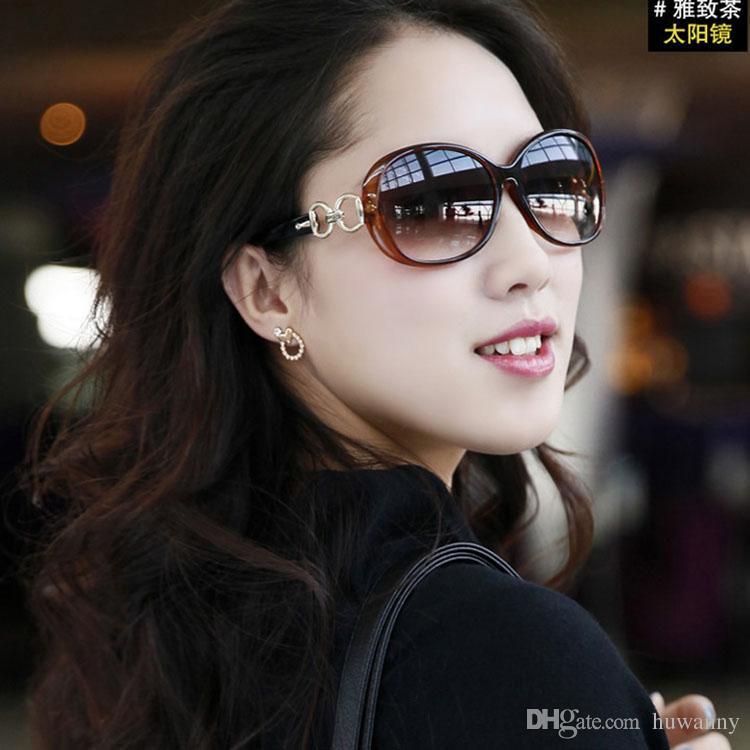 Top Grade Polarized Sunglass Women Fashion Glasses For Sale UV400 Anti-glare Anti-vertigo Ladies Sunglasses with glasses box - 0009GLS