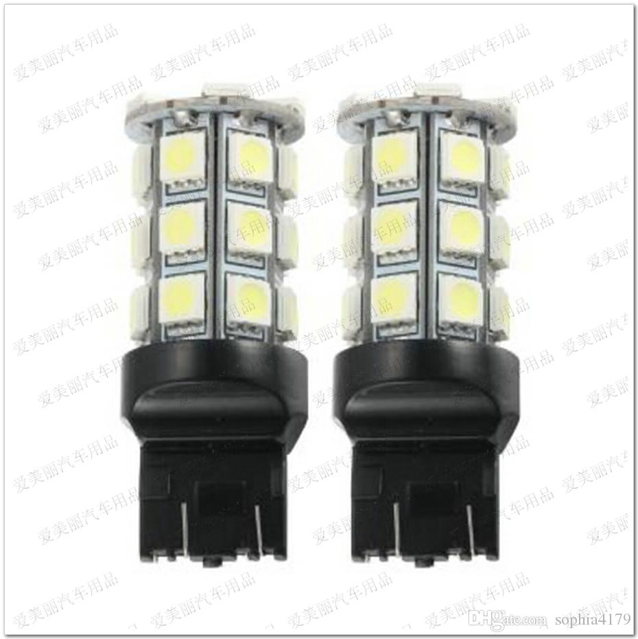 Förderung 10 stücke 27LED 7440 7443 3156 3157 27 SMD 5050 27 LED Auto Blinker Rücklicht Backup Lampen Rücklicht