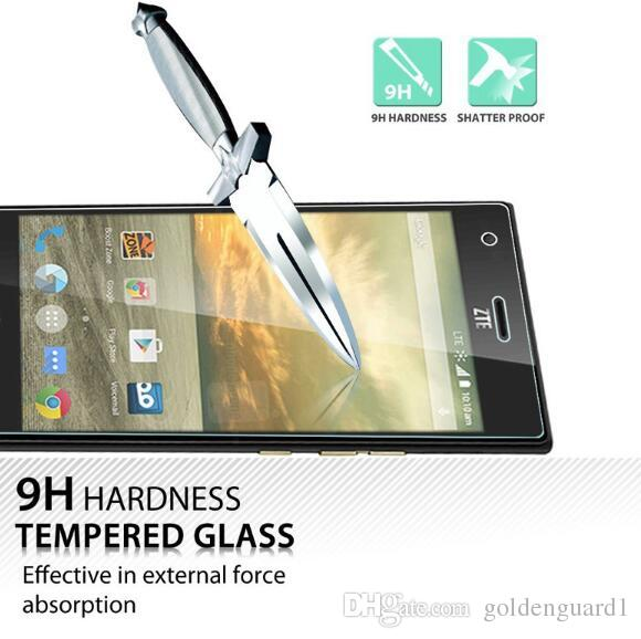For ZTE Warp 7 Tempered Glass Screen Protector For ZTE L2 Blade A512 GF3 A520 V8 Pro V8 Mini AXON7 A910 Z17 MiniS