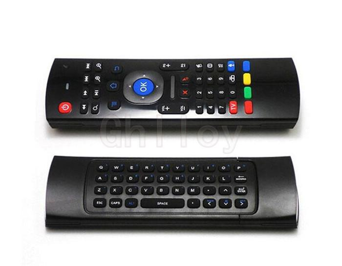 HOT MX3 2.4GHz Wireless Keyboard Air Mouse Remote Controller Somatosensory IR Learning 6 Axis without Mic for Android TV Box Smart IPTV