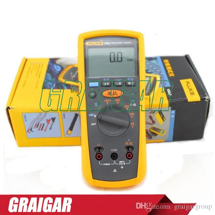 Fluke Megger Meter : Fluke f digital megger insulation resistance