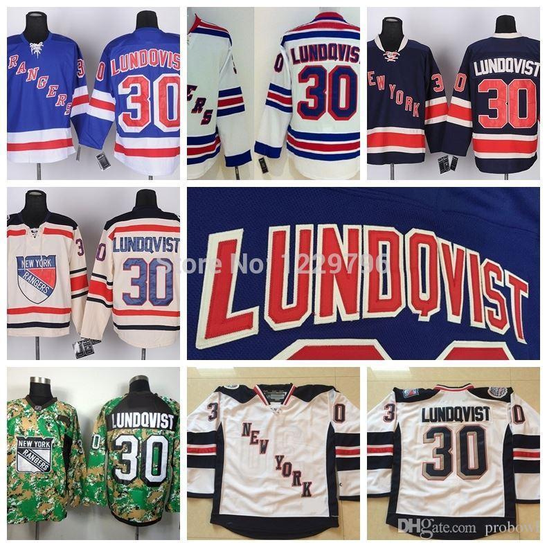 size 40 87ac4 b9a10 new york rangers 30 henrik lundqvist white kids jersey