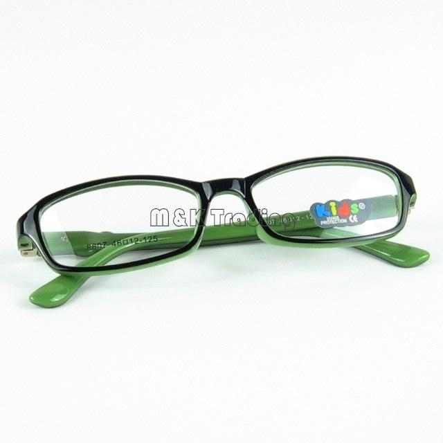 Kids Optical Frame Soft Material Frame Glasses For Myopia Mixed Colors With Clear Lens Cheap Wholesale
