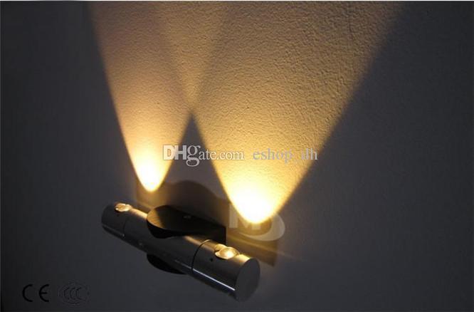 Modern 6 W LED Duvar ışık tuvalet banyo yatak odası okuma duvar lambası otel ayna ışık lamba ışıkları ev dekor