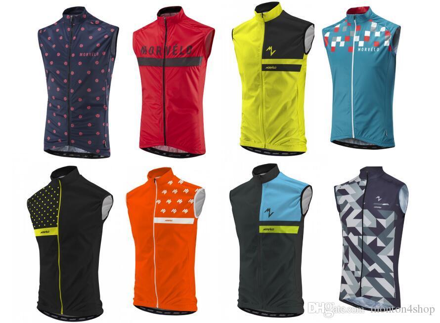 2018 Morvelo Pro Team Winter Fleece Cycling Windproof Vest Windjacket Thermal  Mtb Biking Coat Mens Warm Up Jacket Vintage Cycling Jerseys Waterproof  Jacket ... 23b705739