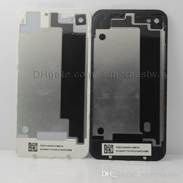 full housing for iphone 4 g 4s back housing battery door cover replacement part original clone work with front LCD display screen SNP001