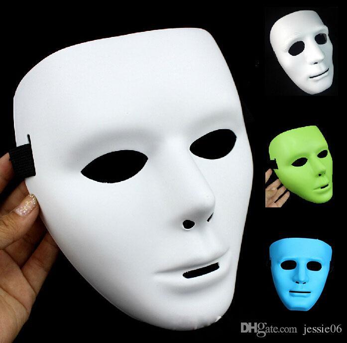Hot Festival Mask Bboy máscara de hiphop Máscaras de fiesta de Halloween JabbaWo Máscara Niñas niños hombres mujeres partido costome pure 8 máscara de color EMS