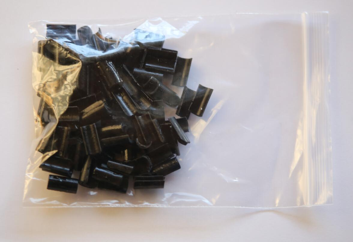 Groothandelsprijs Keratin Nail Rebonds Tips voor Hair Extensions 100 stuks tas