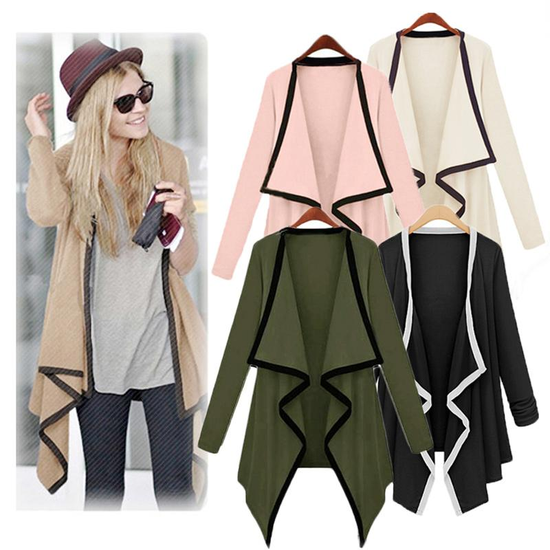 2018 2015 Fashion Womens Asymmetric Cape Womans Poncho Top ...