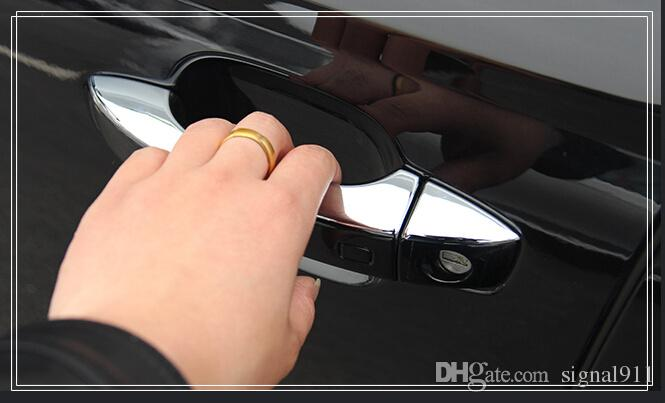 ! High quality ABS chrome door handle cover,door handle trim,protection sticker FOR AUDI A6L