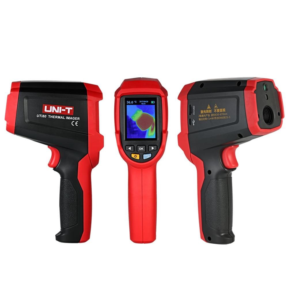 UTi80 Infrared Thermometer thermal imager digital temperature instruments -30-400 C pyrometer camera Thermometer Tester