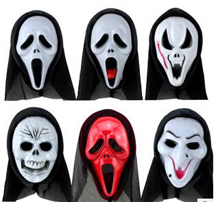Halloween Mask Party Scary Mask Ghost Mask Face Mask Scream Mask ...