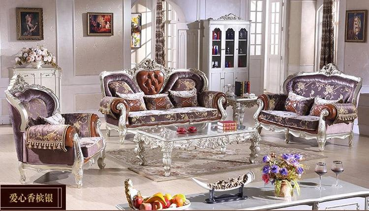 2017 2015 High End European Style Living Room Sofa Combination ...
