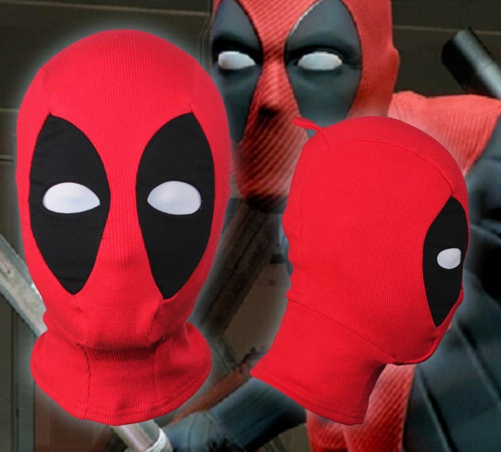 Halloween Mask Deadpool Game Face Mask Comfortable Rib Fabrics ...