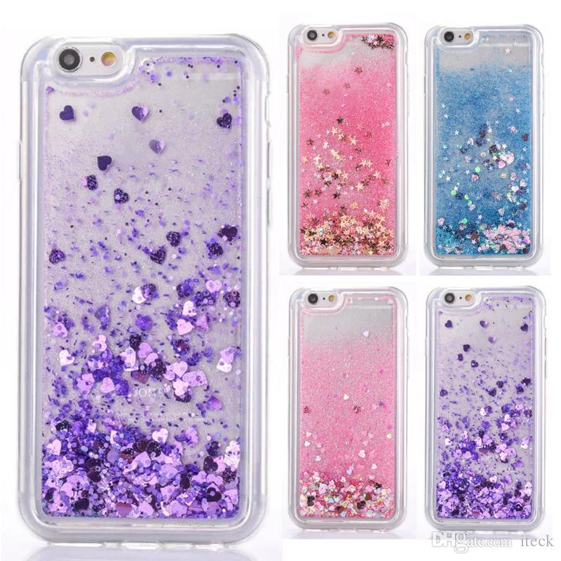 quality design 0777a 668a8 Phone Glitter Liquid Quicksand Cover For Vivo X9 Case Luxury Crystal TPU  Silicon Case For Vivo Y55 X9 X9 Plus V9 Cover