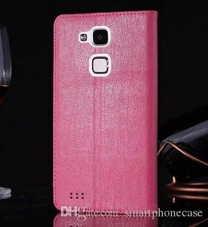 Для Huawei Mate 7 Case 2016 мода флип стенд подлинная крышка окна оригинальный ультра-тонкий роскошный кожаный чехол для Huawei Ascend Mate 7