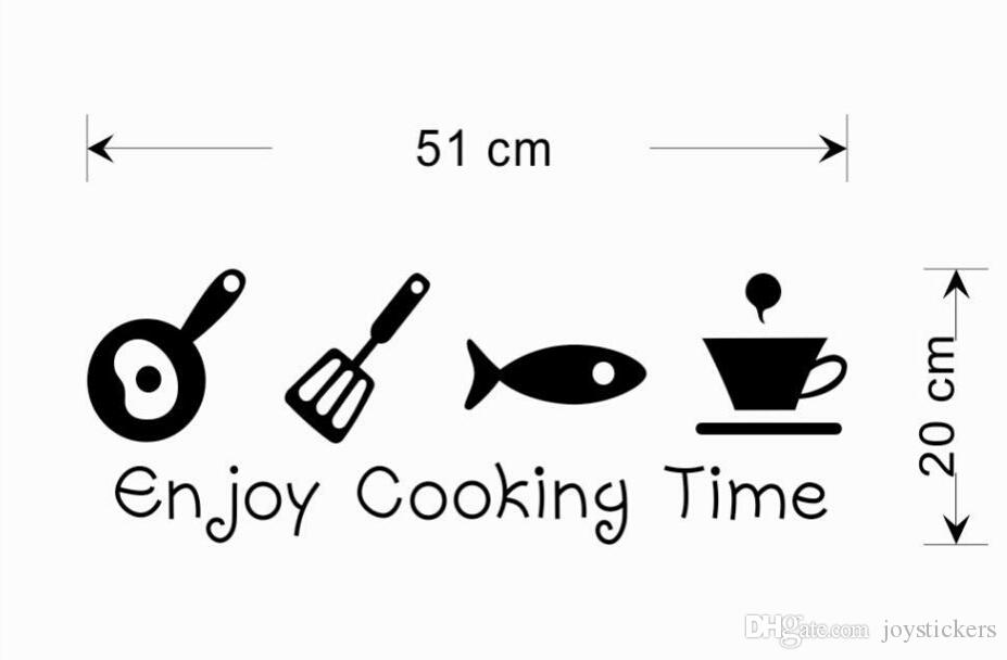 Kitchen Wall Stickers Home Decorations Diy Removable Vinly Wall Decals Forks Knife
