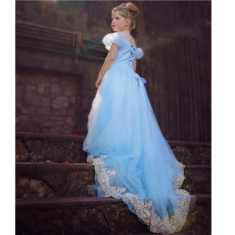 2019 Long Princess Prom Dress 2015 Cinderella Dress