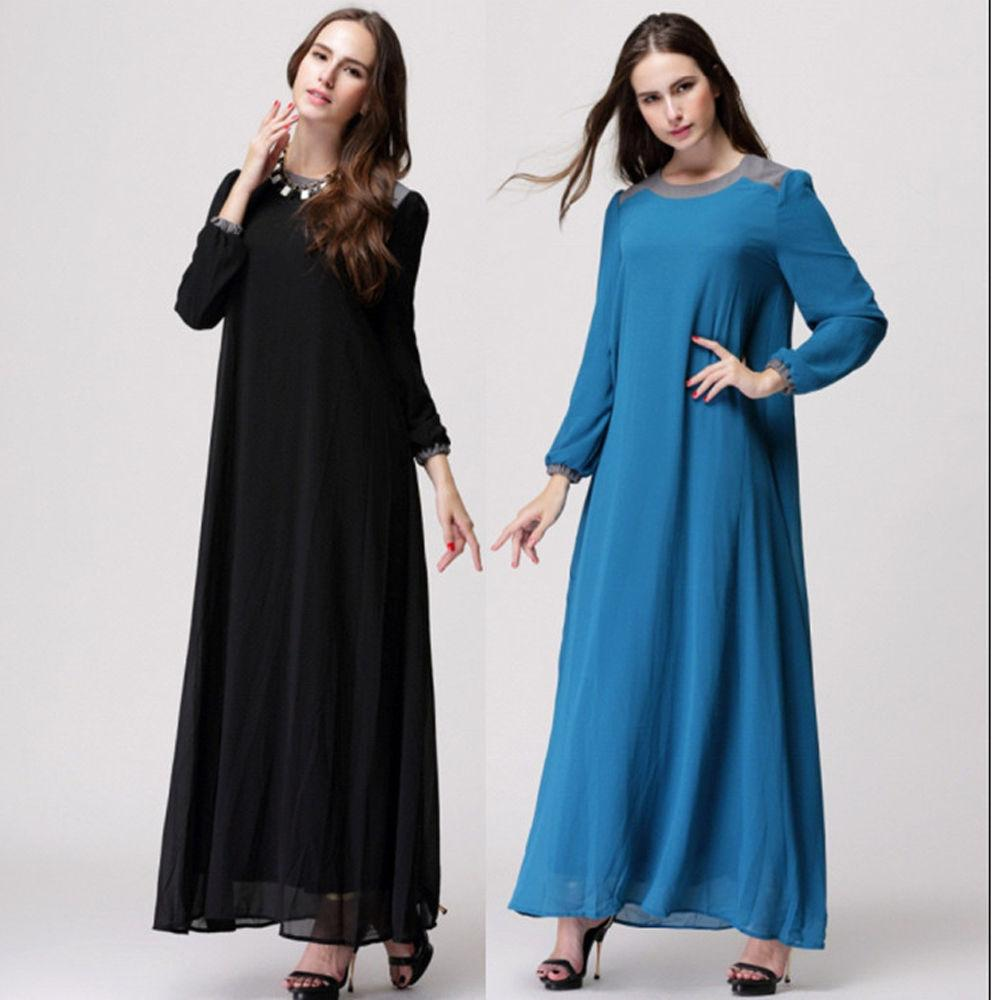Fashionable Wholesale Camisa Muslim Womenswear Abaya Islamic Long ...