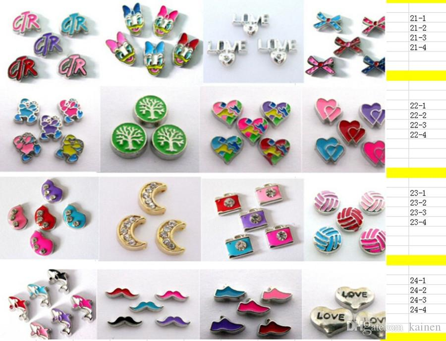 """!!""""High-Heeled Shoes""""Floating Charms DIY Floating Locket Charms Fixed Colors Fit Floating lockets& Bracelets FC276"""