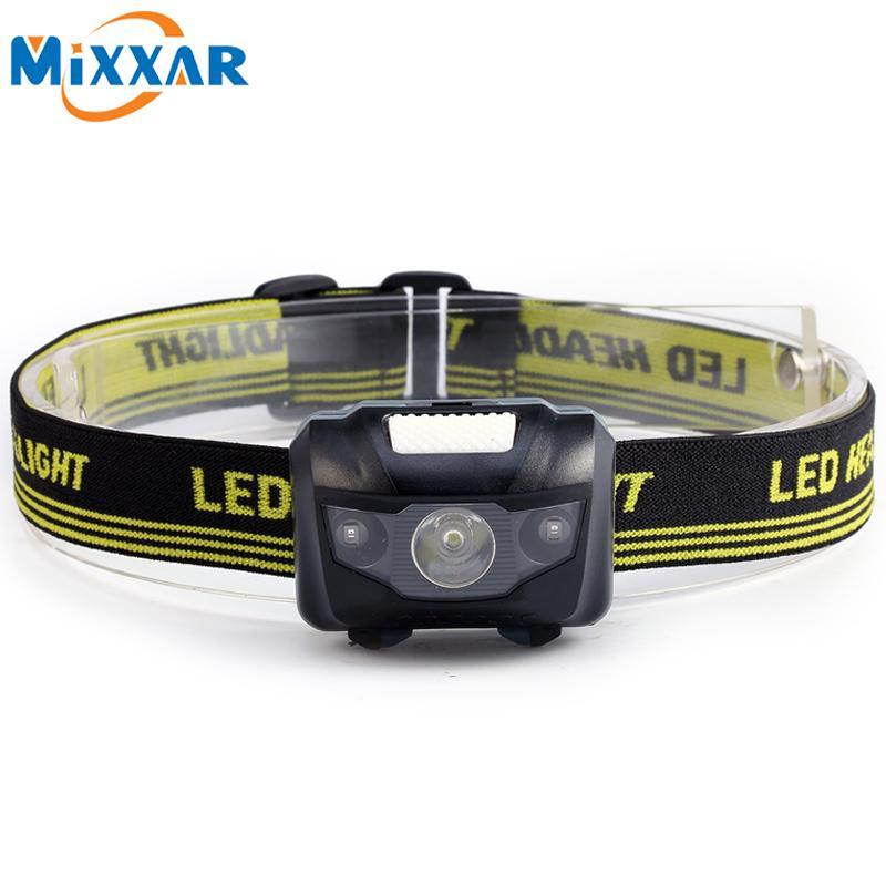 600lm portable mini led infrared ray flashlight headlights
