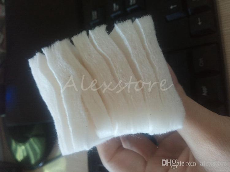 Японский 100% чистый органический хлопок фитили хлопчатобумажной ткани япония колодки для DIY RDA RBA Vape Ecig Механический мод 180 шт. / Пакет от MUJI в розницу