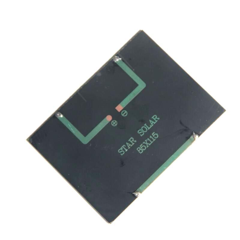 Wholesale 12V 1.5W Mini Solar Cells Epoxy PolycrystallineSolar Panels Solar DIY Solar Module Education 115*85MM Epoxy /