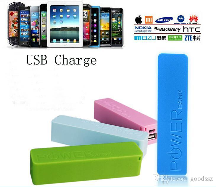 2600mAh 전원 은행 비상 USB 휴대용 외부 배터리 충전기 아이폰 6 5 4S 4 Samsung Galaxy 휴대 전화