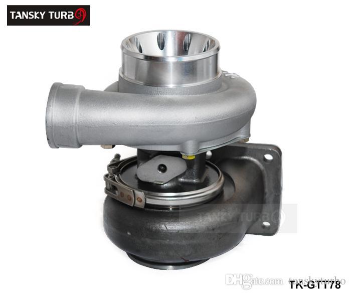 TANSKY - T78 T4 شاحن توربو مزدوج التمرير V باند لسباق السيارات قوة حصان: 500-1000HP مع جوانات TK-GTT78
