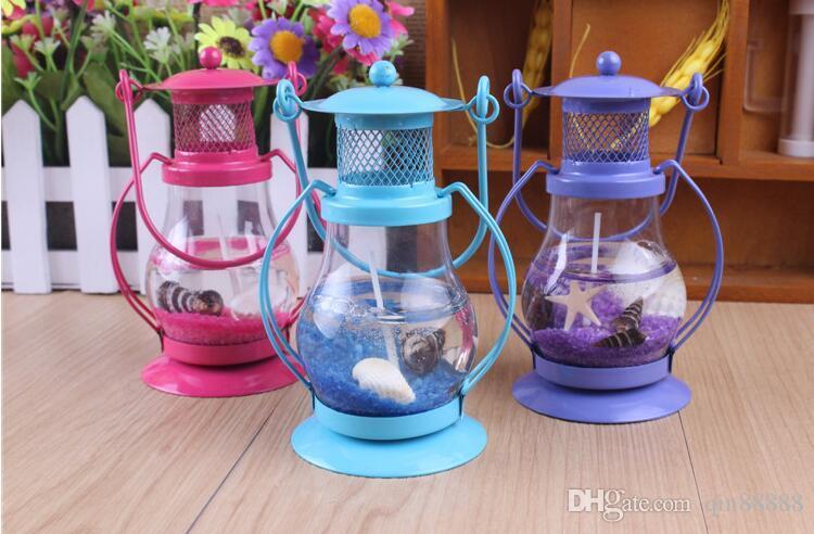 Mini candele della gelatina della lampada di candela della candela della cera della novità mini la decorazione della festa nuziale di buon compleanno