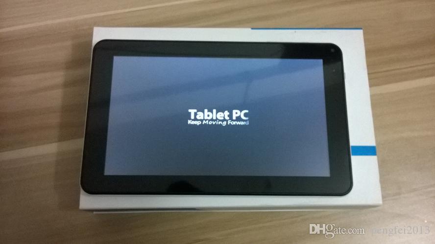 Tablet PC Quad Core 9 pouces avec flash Bluetooth 512MB / 8GB A33 Andriod 4.4 1.5Ghz