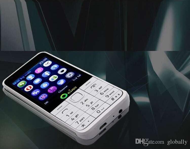 Oeina 230 four SIM quad SIM cards 2.8 inch HD big screen 4 SIM card 4 standby Dual TF card dual FM camera cell mobile phone