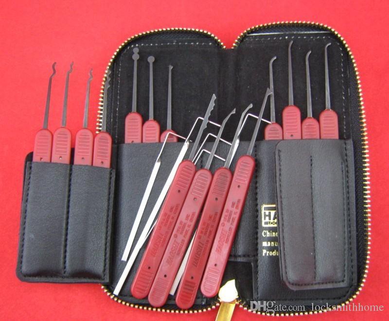 Haoshi 스테인레스 스틸 / 스프링 스틸 잠금 장치의 종류에 대한 Piplock 도구 잠금 해제 자물쇠 도구 잠금 선택